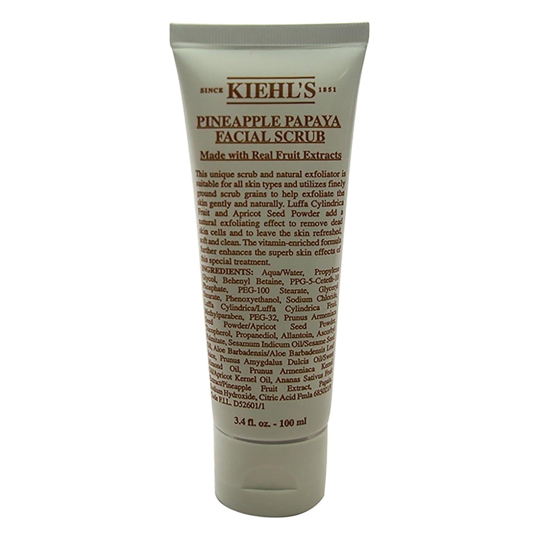 Kiehl's Pineapple Papaya Facial Scrub With Real Fruit 3.4oz (100ml) Kiehl' s 3700194704018