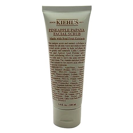 Kiehl's detergenti esfolianti pineapple papaya facial scrub 100 ml