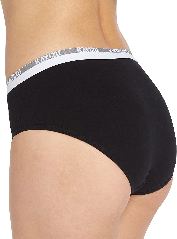 KAYIZU 6 Pack Womens Underwear Super Soft Cotton Brief Knickers Bikini