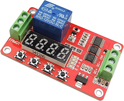 Arrival Multifunction Self-lock Relay Cycle Timer Module PLC Delay 12V