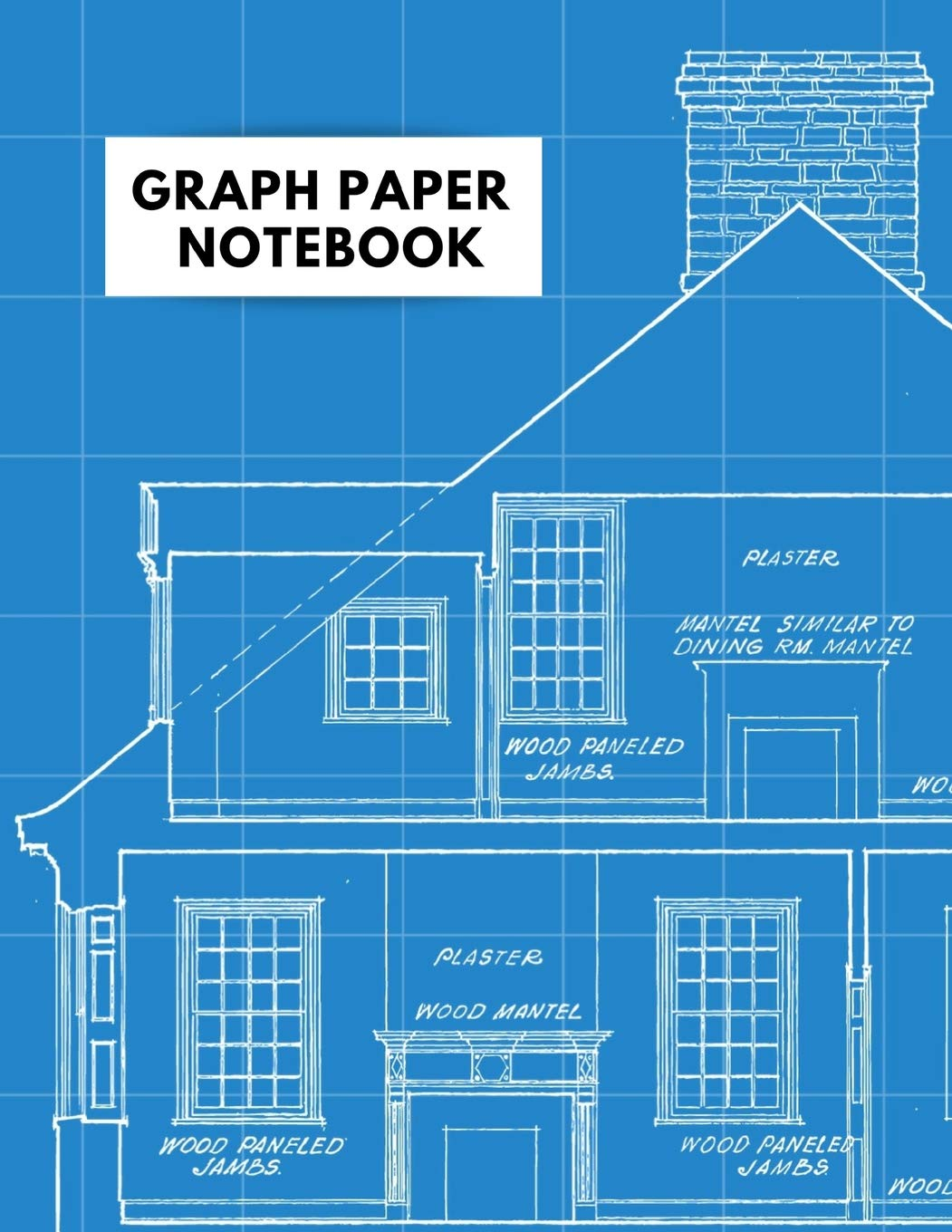 Graph Paper Notebook Architecture Themed 5 X 5 Graph Paper