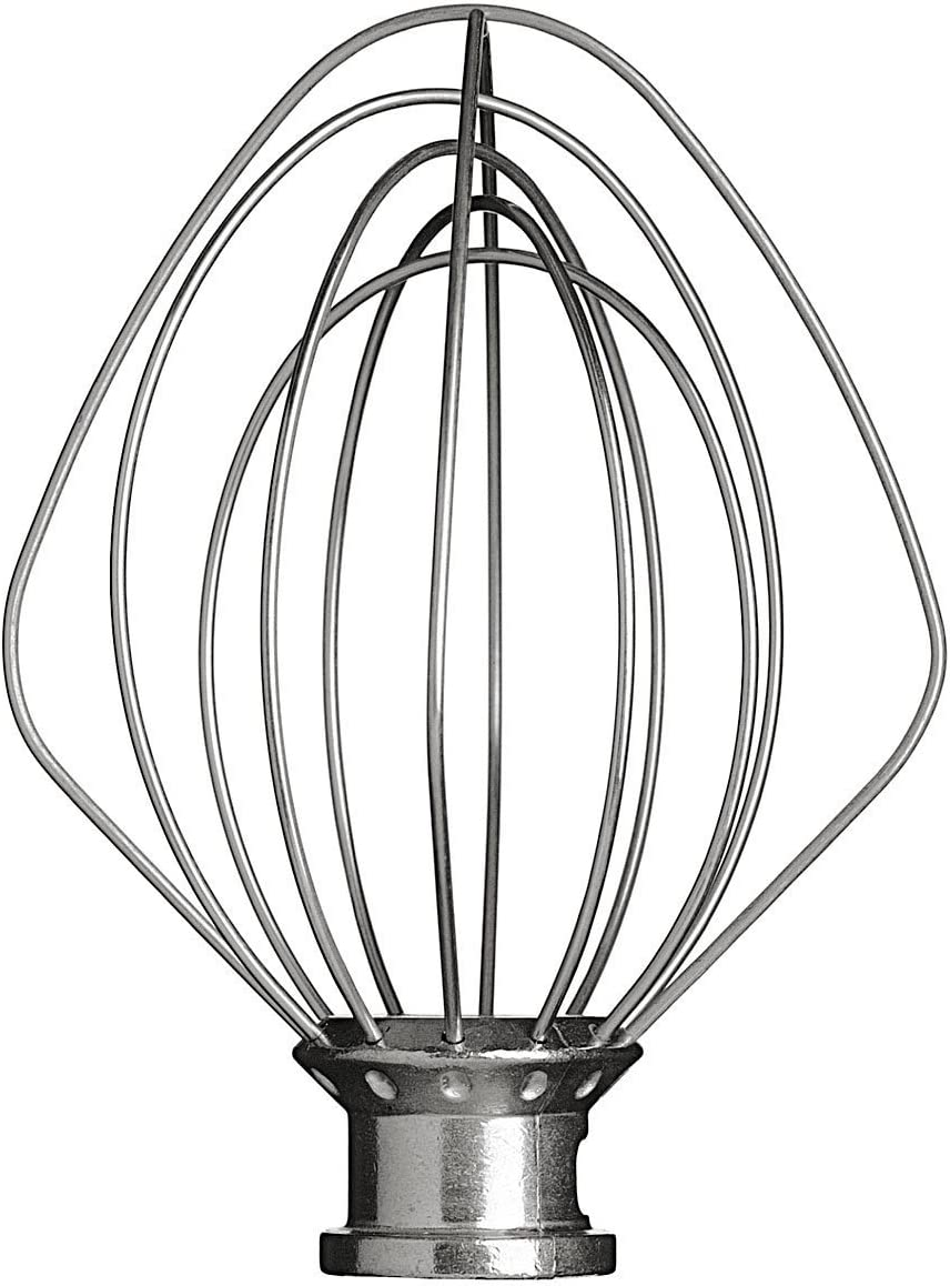 KitchenAid K45WW Wire Whisk for Classic Stand Mixers 4.3 Litre Silver