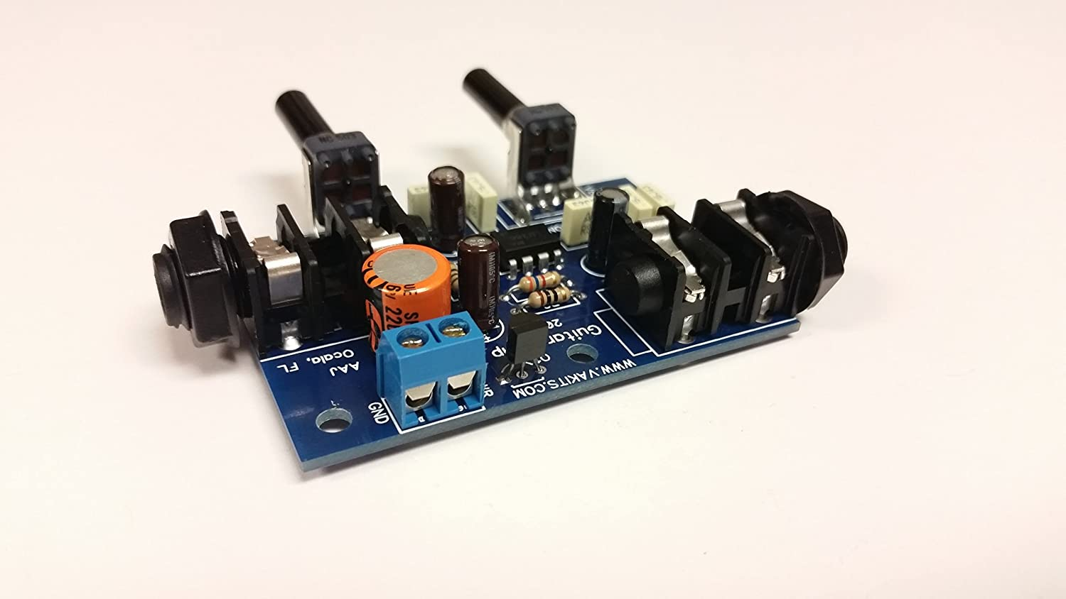 Nightfire Electronics Guitar Amplifier Kit 1127 Home How To Make A Circuit Board Pick Audio Theater