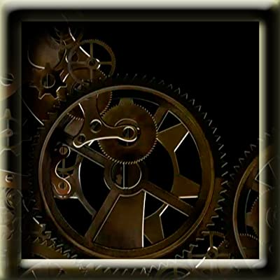 Mechanics Clock Inside Live Wallpaper.