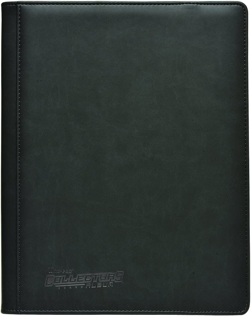 ULTRA PRO 9 POCKET COLLECTORS ALBUM BLACK HOLDS 180 CARDS BINDER//PORTFOLIO NEW