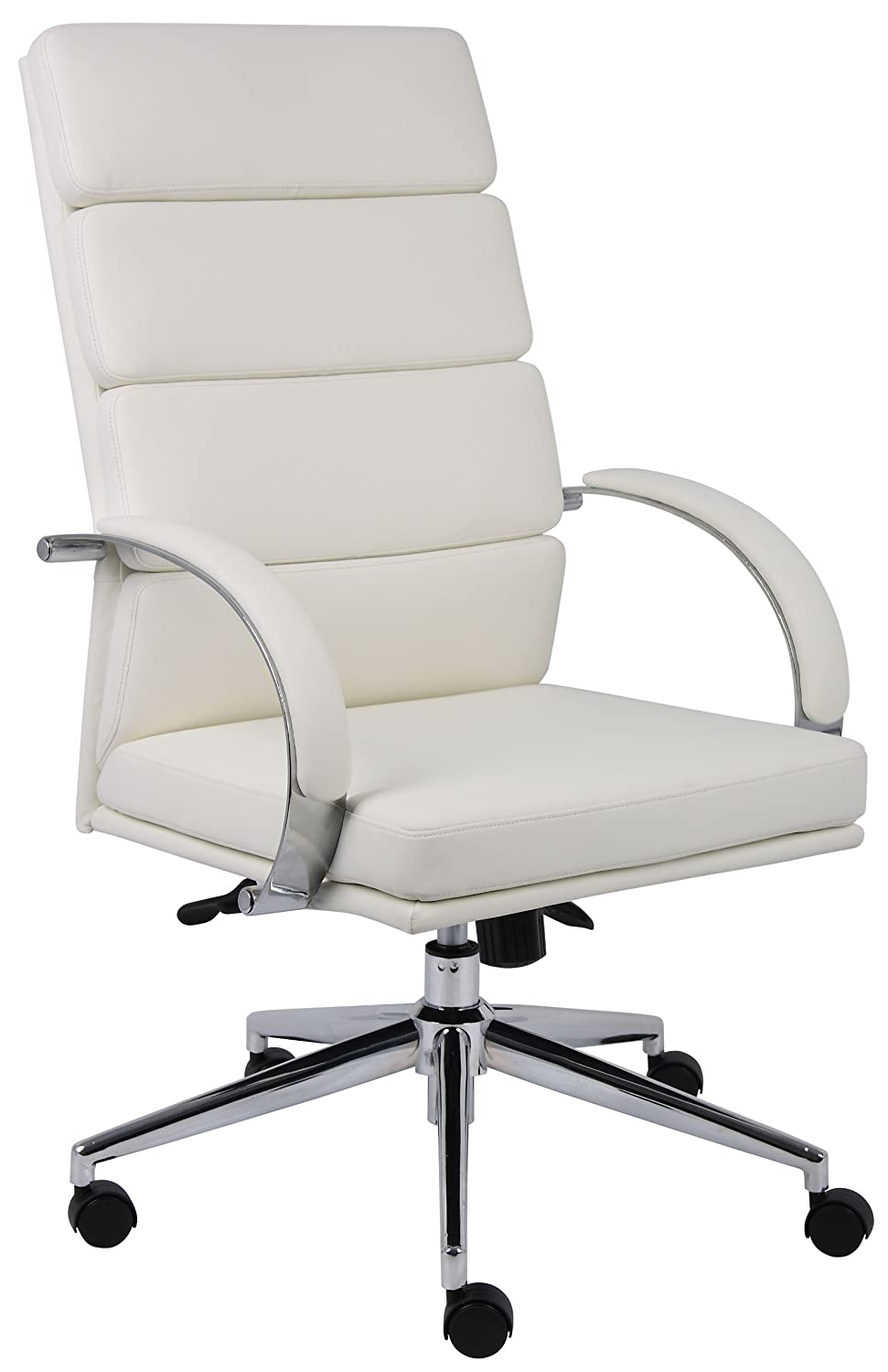 Amazon.com: Boss B9401 WT Caressoftplus Executive Series Chair: Kitchen U0026  Dining