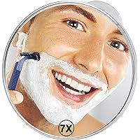 21cm Espejos para afeitado 7x Ampliación Espejos