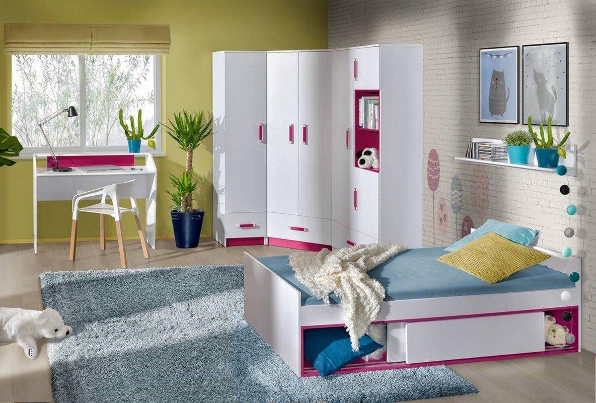 Kommode TRAFIKO TRAFIKO TRAFIKO Schrank Highboard Sideboard Jugendzimmer Kinderzimmer Möbel (weiß matt   grau) 6789d4