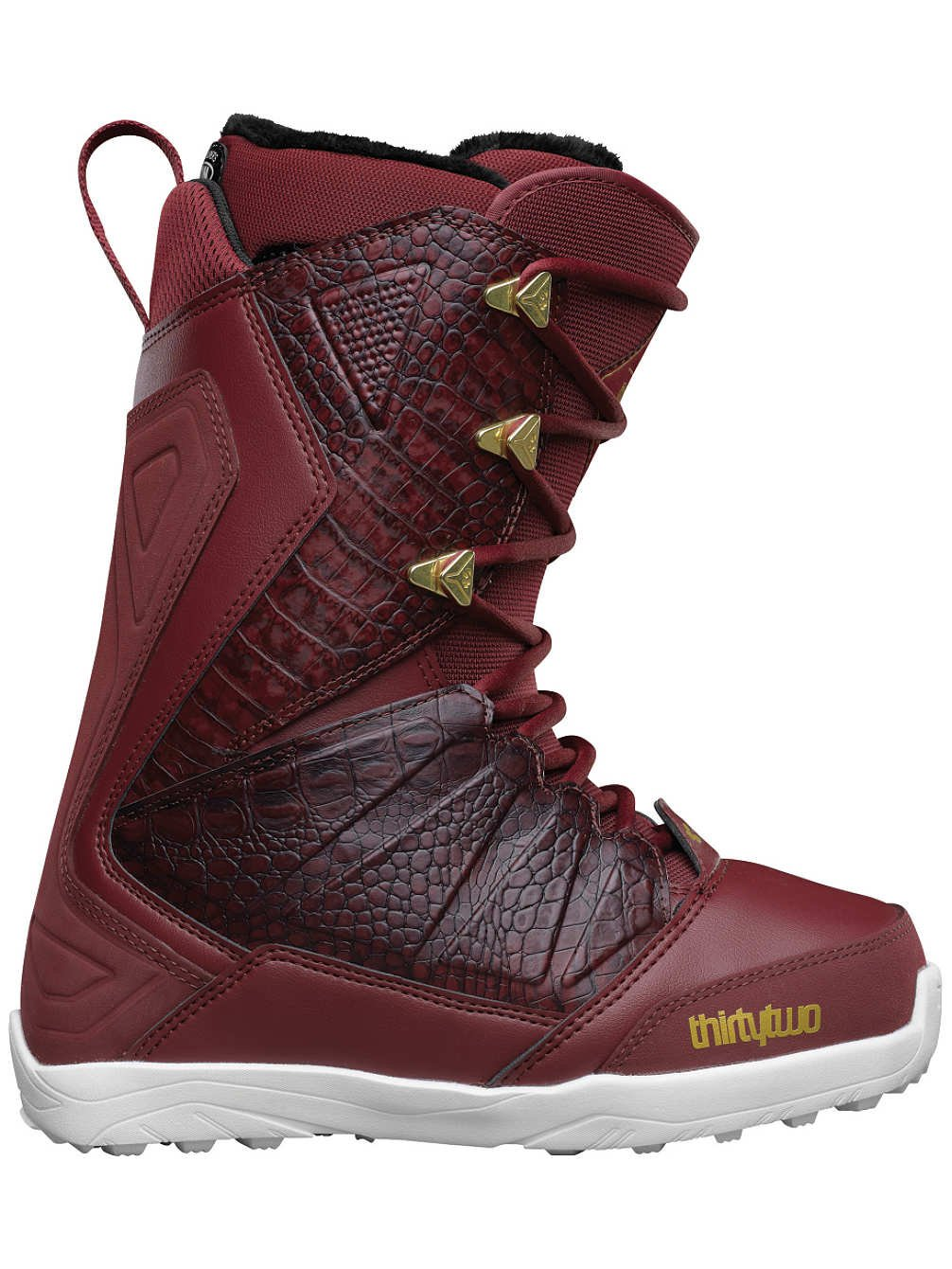 thirtytwo Lashed W's 16' Boots, Burgundy, Size 7.5