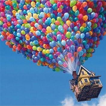 Globos Flying Casa Pintura Por Numeros Kits Para Adultos Ninos De