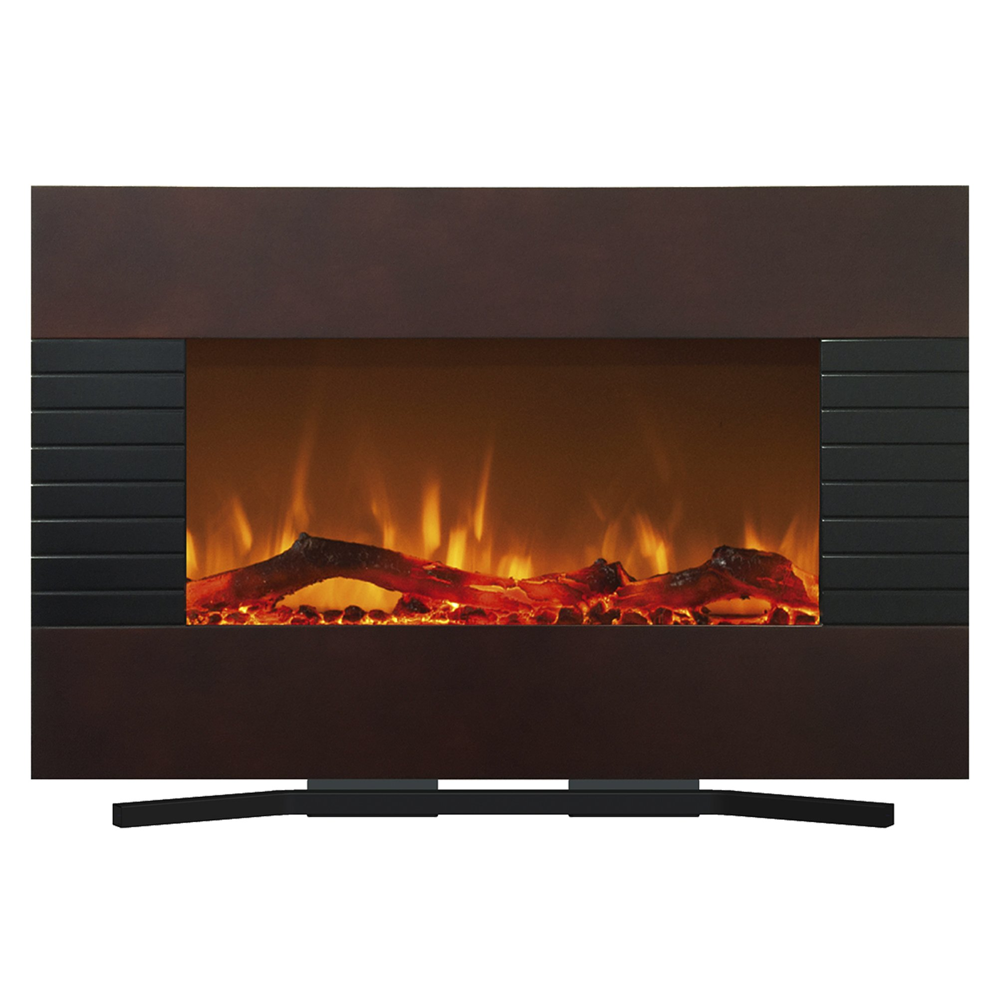 Northwest 80-422S Mahogany Fireplace With Wall Mount & Floor Stand, 36'' by Northwest (Image #3)