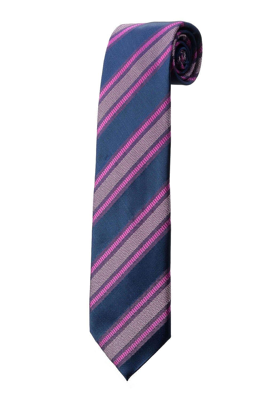 Corbata Large Azul de rayas fucsia Design disfraz: Amazon.es: Ropa ...