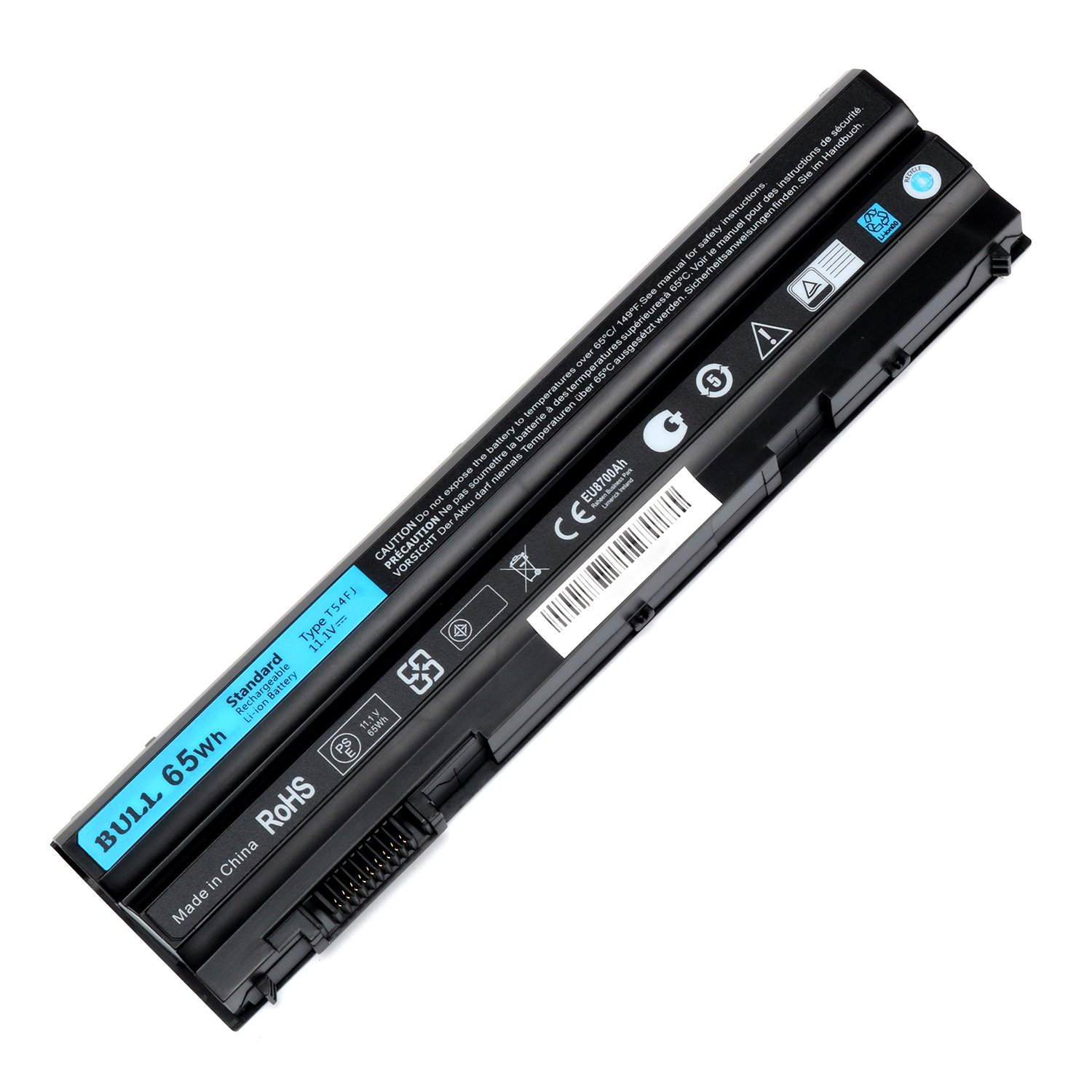 BULL-TECH 11.1V T54FJ New Laptop Battery for Dell Latitude E5420 E5520 E6420 E6520 Compatible P/N: M5Y0X 312-1163 HCJWT 7FJ92 by BULL-TECH (Image #4)