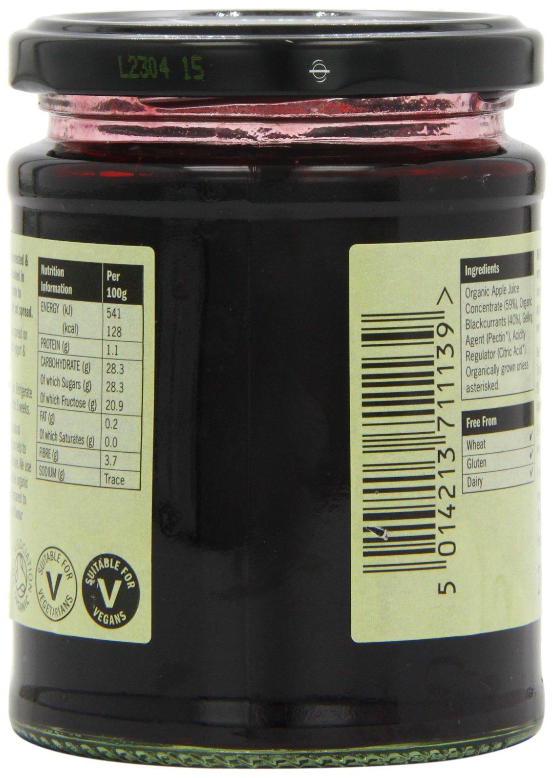 Meridian Organic Blackcurrant Fruit Spread 284 g (Pack of 6) by Meridian (Image #5)