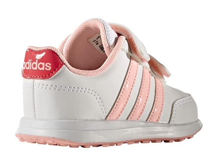wholesale dealer 8abbb b121e Adidas neo AW4112 Scarpa velcro Kid Bianco 22  Amazon.co.uk  Sports    Outdoors
