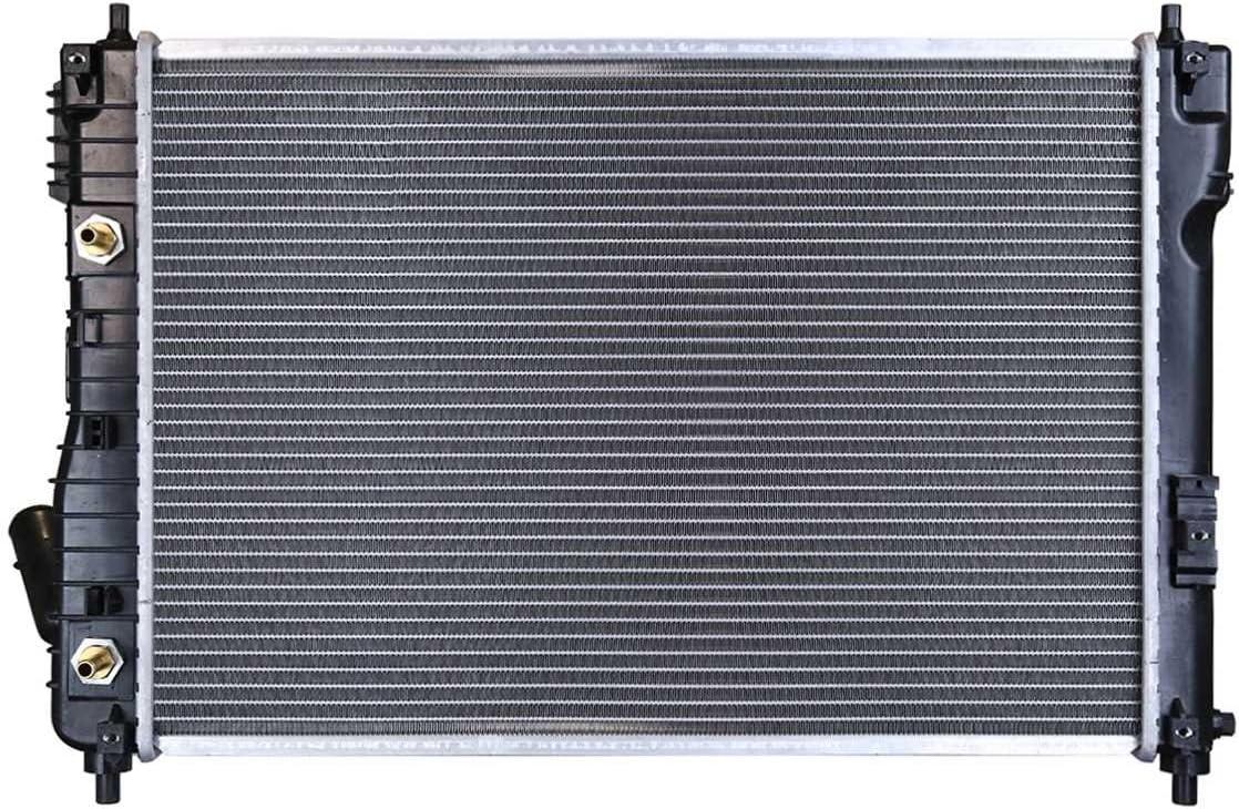 Prime Choice Auto Parts RK1566 Complete Aluminum Radiator