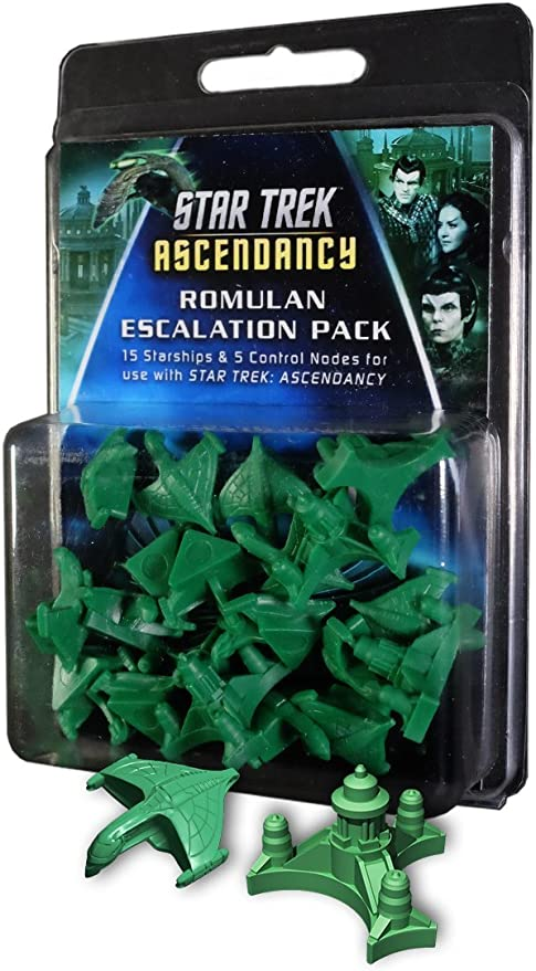 Gale Force Nine GF9ST013 Star Trek: Ascendancy Romulan Ship Pack - Juego de Cartas: Amazon.es: Juguetes y juegos