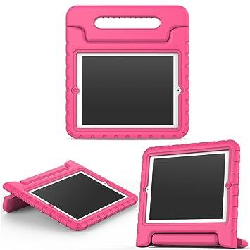 MoKo Funda para iPad 2/3 / 4 - Material EVA Lightweight Kids Shock Proof Protector Cover Case con Manija para Apple iPad 2/3 / 4 9.7 Pulgadas Tableta, ...
