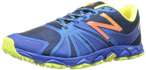 New Balance MT1010 D - Zapatillas de correr de material sintético hombre, Blau (B2 BLUE/YELLOW 5), 42.5: Amazon.es: Zapatos y complementos