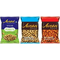 Wasabi, Classic Salted, Chilli Surprise Peanuts -Indian Ready to Eat Nuts Snacks 100 Gm(3.52 OZ)- Combo Pack of 3