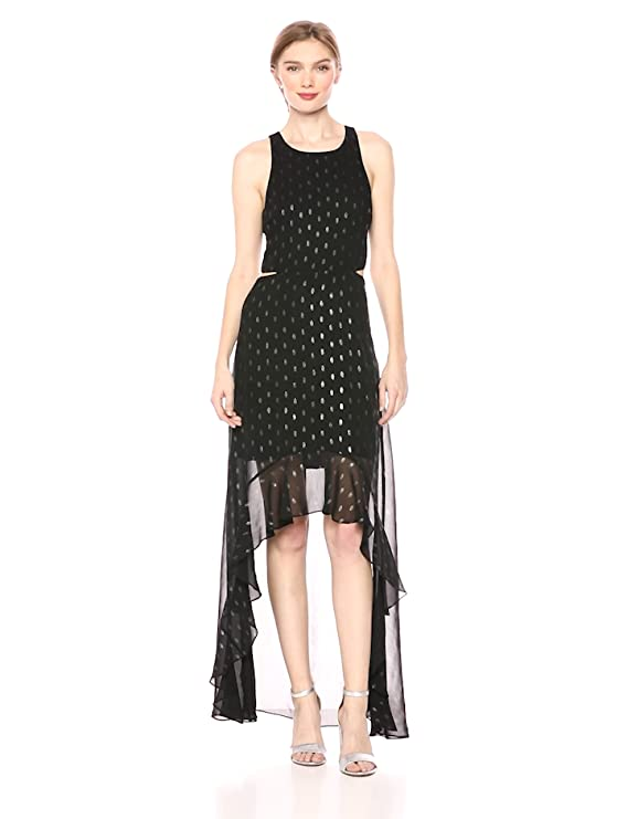d85ae923620 Ali & Jay Women's Bohemian Rhapsody Floral Printed Cut-Out Hi-Lo Maxi Dress  at Amazon Women's Clothing store: