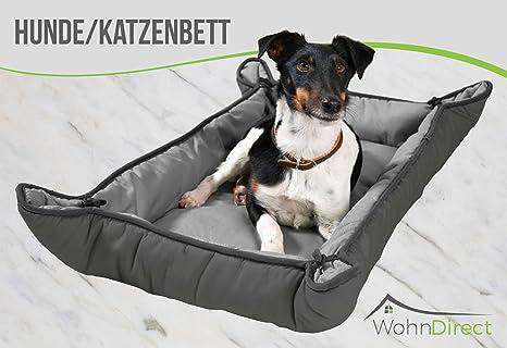WohnDirect Cama portátil para Mascotas: cómodo, Plegable, Lavable, práctico, fácil de
