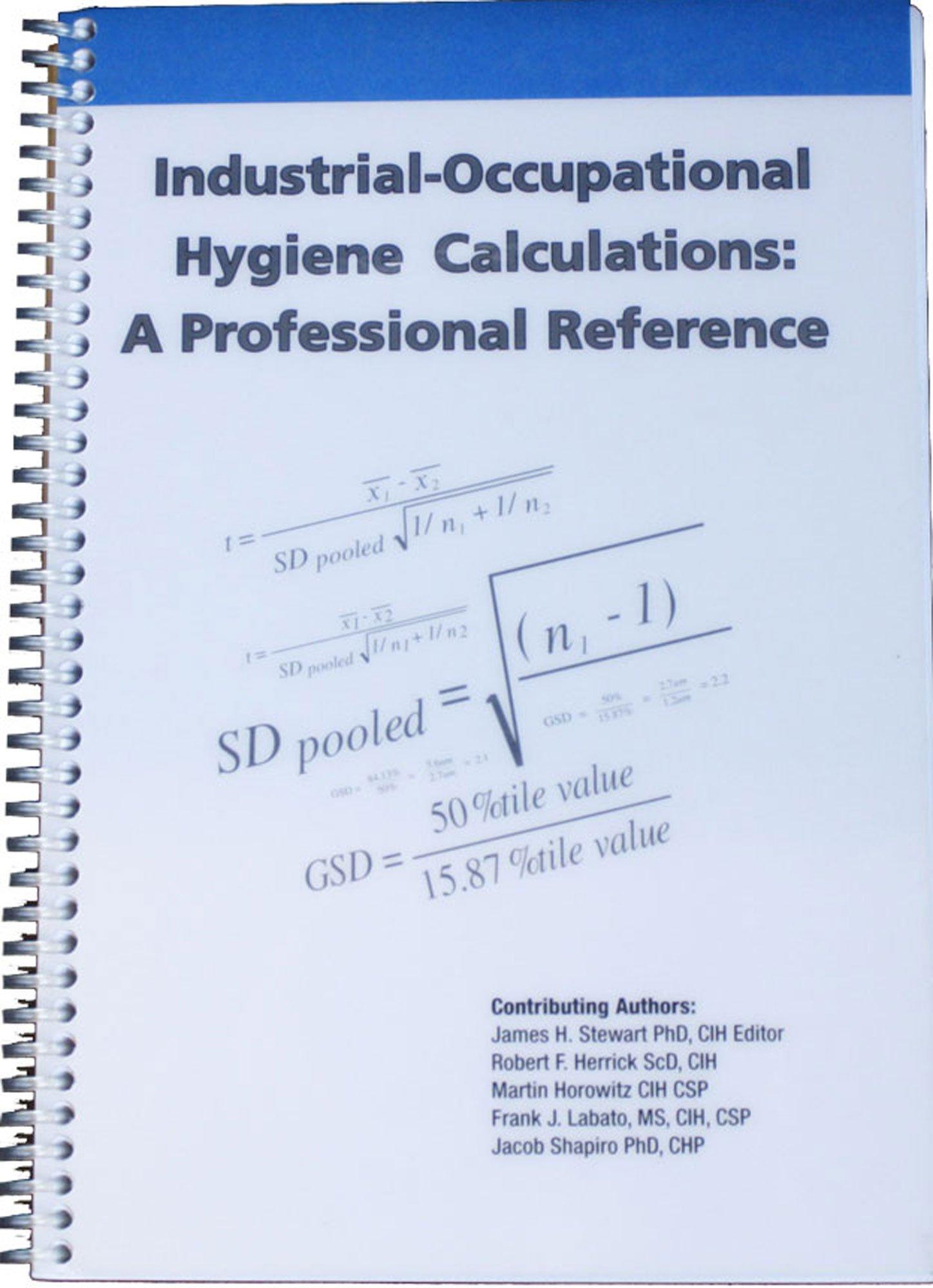 Amazon Buy Industrial Occupational Hygiene Calculations A