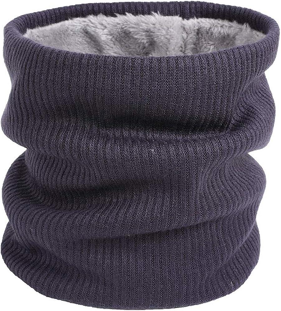 Mens or Womens Unisex JUBILATE Polar Fleece Neck Warmer Gaiter Warm Cold Weather Scarf Wrap Gift