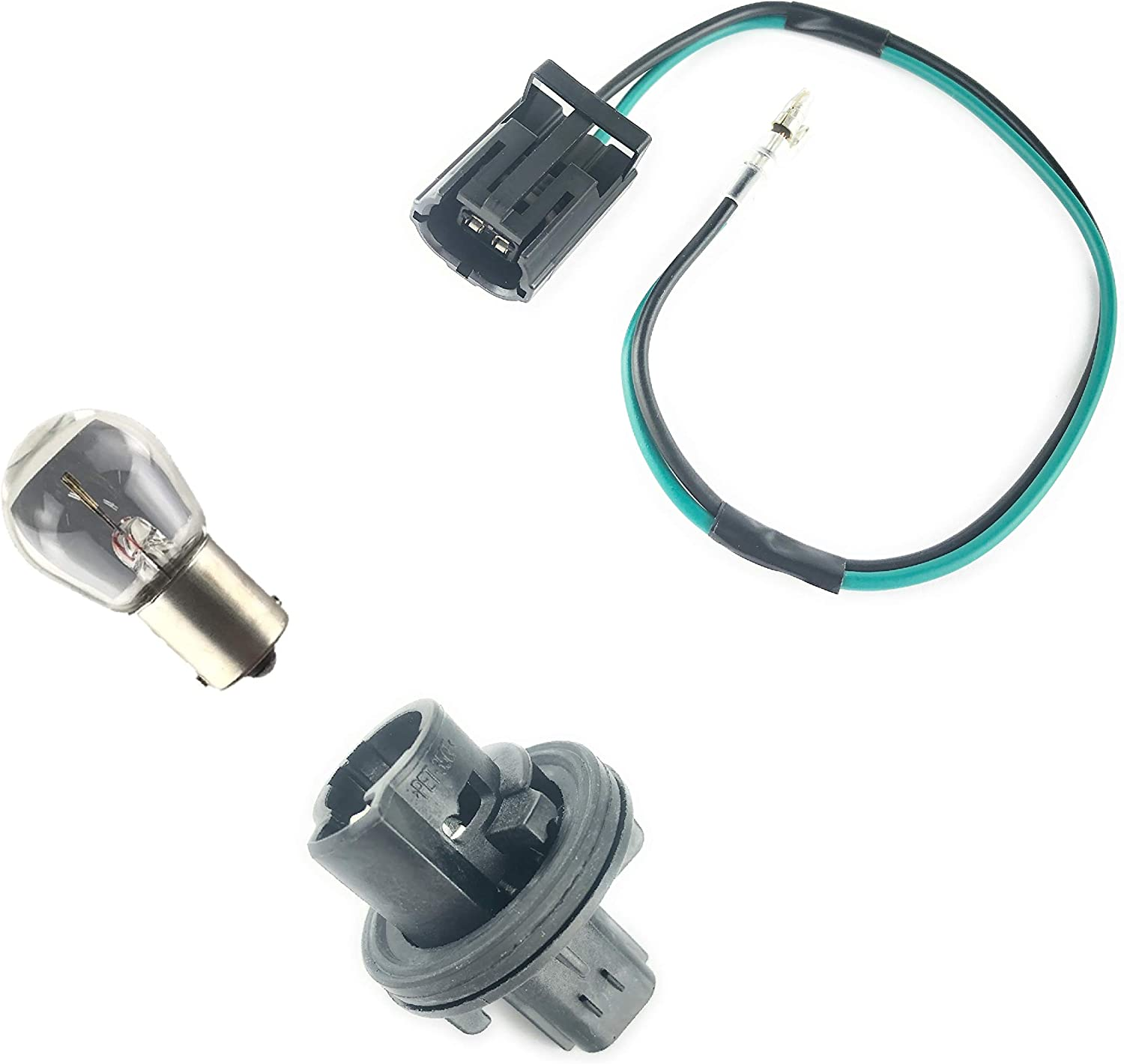 Single Pole Contact Bulb Holder Wire Link Pig Tail Bulb for Land Rover Vehicles