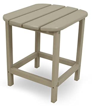 POLYWOOD SBT18SA South Beach 18u0026quot; Side Table, ...