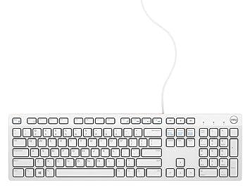 DELL KB216 USB QWERTY Internacional de EE.UU. Color Blanco - Teclado (USB, Universal, QWERTY, Internacional de EE.UU, Alámbrico, USB): Amazon.es: ...