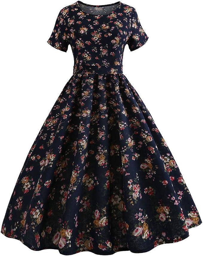 Vestido Vintage mujeres, xinantime Vintage silode Bodycon sin ...