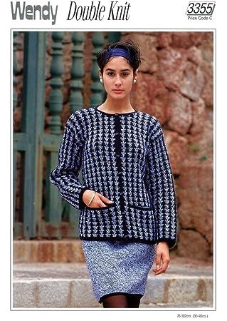 à et Ensemble jupe Veste Patron pour de couture Lady's femme 3355 DK 30 tricot Wendy xvYTHH