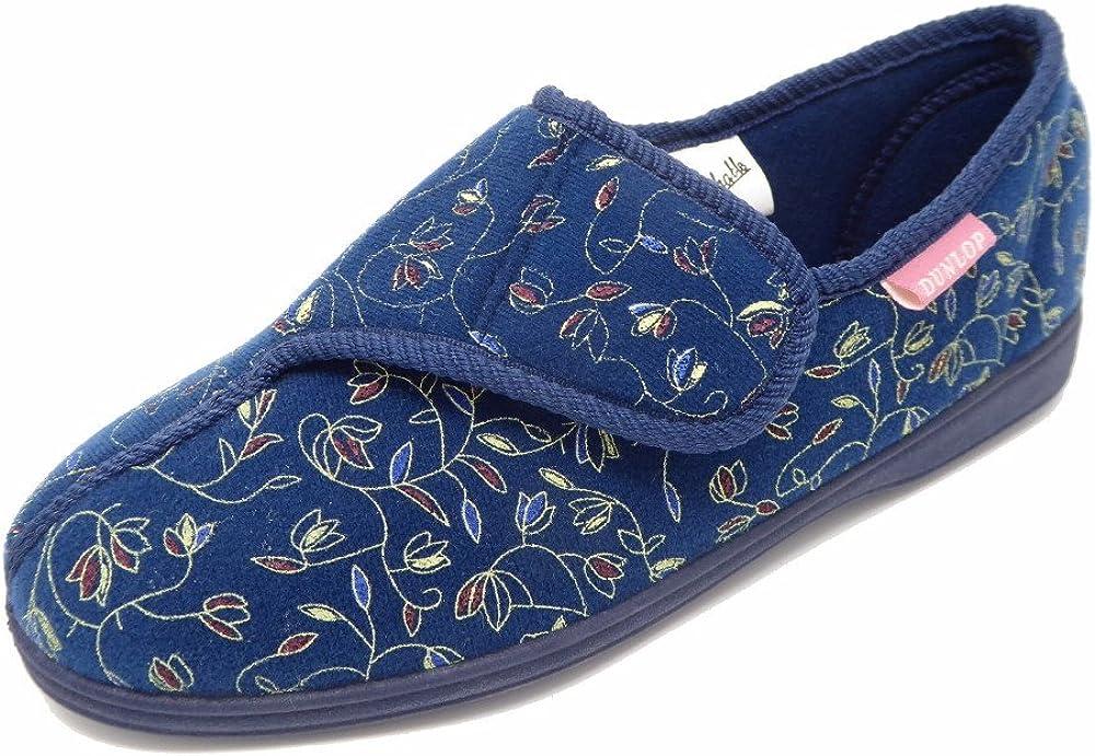 Dunlop - Zapatillas de estar por casa para mujer