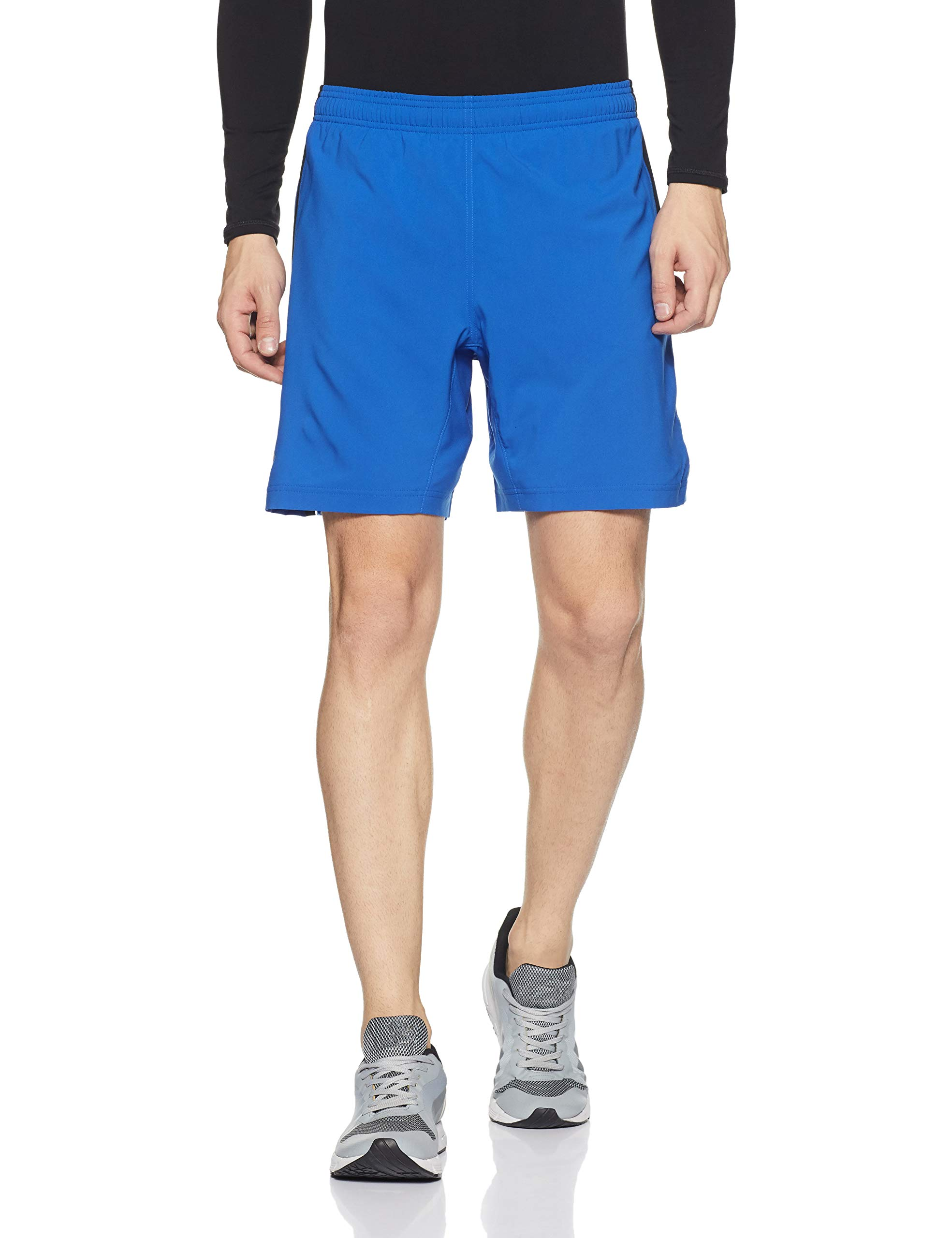 Under Armour Men's Launch 2-in-1 Shorts,Lapis Blue (984)/Reflective, Large