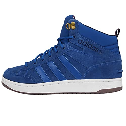 130cddd6b904 adidas neo Men s Hoops Lx Blue and Collegiate Navy Sneakers - 11 UK  Buy  Online at Low Prices in India - Amazon.in
