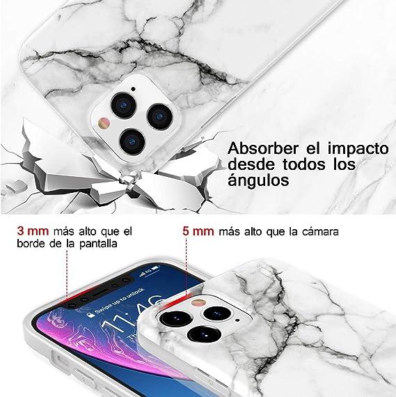 Dorado Ellmi Funda para iPhone 12 Pro 6.1 Inch Adsorci/ón Magn/ética conchoques de Metal con 360 Grados Protecci/ón Case Cover Transparente Ambos Lados Vidrio Templado Cubierta para iPhone 12 Pro