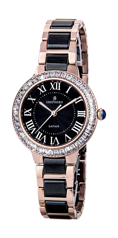 SHEPHERD Keramik Damen Armbanduhr 60396