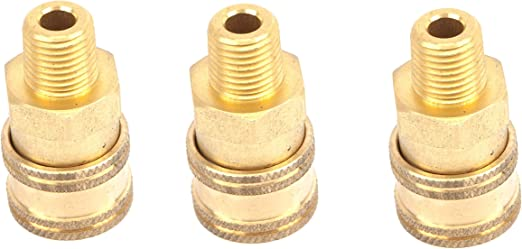 """Forney Male Plugs 1//4 /"""" 5500 Psi Quick Connect"""