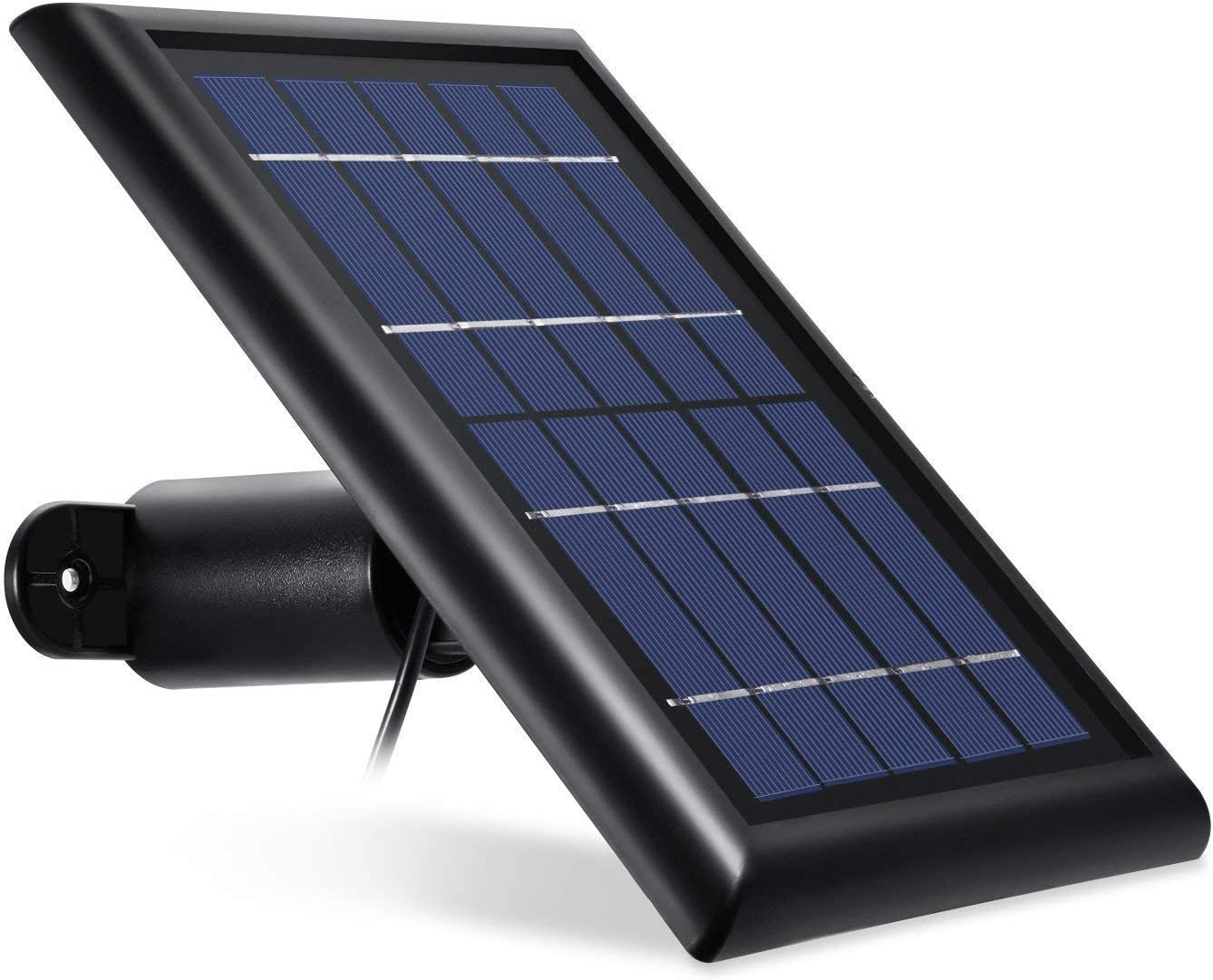 White Pro 2 Wasserstein Arlo Solar Panel Compatible with Arlo Pro GO /& Light Updated Version