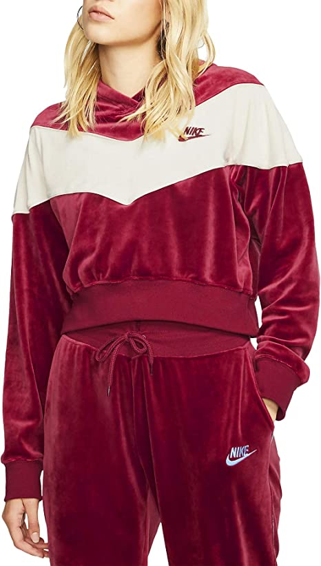 Nike Sportswear Heritage, Felpa Donna: Amazon.it: Abbigliamento