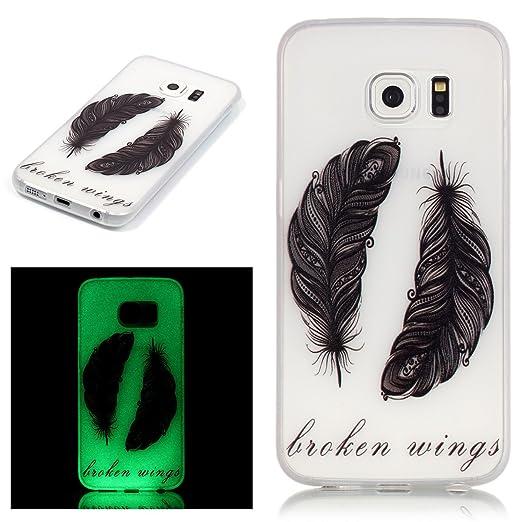 2 opinioni per ISAKEN Custodia Samsung Galaxy S6 Edge, Galaxy S6 Edge TPU Cover, Fashion