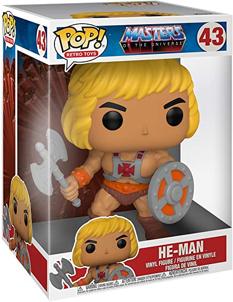 Funko Pop! Masters of the Universe – He-Man action figure collectible toy in package