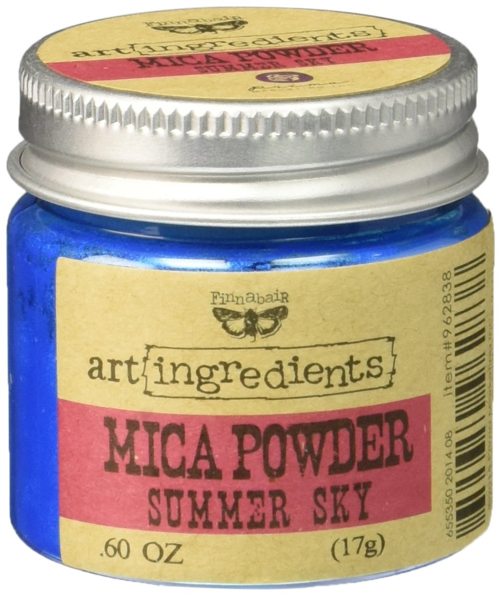 Prima Marketing Finnabair Art ingredienti di polvere di Mica, 0,6 g Summer-Sky AIMP-62838