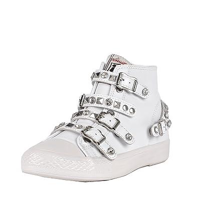 Femme Chaussures 40 Ash Blanc Baskets Victoria Amazon Blanc En Cuir Bxa6qSx