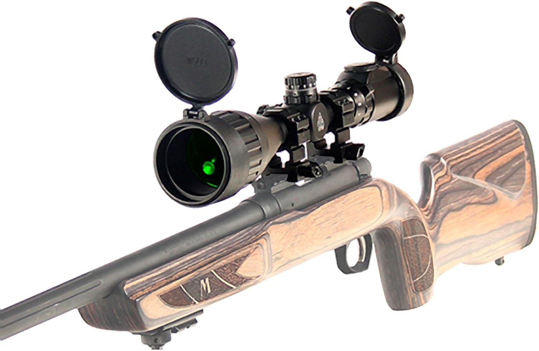 UTG 3-9X50 1 Hunter Scope, AO, 36-color Mil-dot, w Rings
