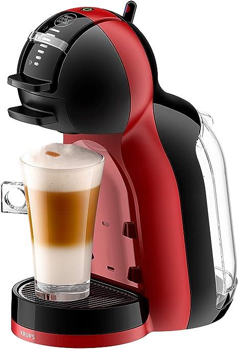 Krups KP 1201 Nescafé Dolce Gusto Mini Me - Cafetera de cápsulas (automática), color rojo: Amazon.es: Hogar