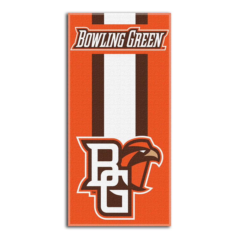 The Northwest Company NCAA Bowling Green State University Beach Towel, One Size, Multicolor by The Northwest Company