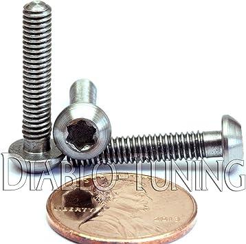 Titanium M8 x 20mm Button Head Socket Screws