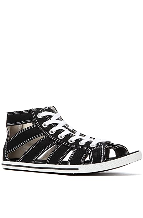 b3b4939949af Converse Chuck Taylor Gladiator Mid Black   537049C 001  Amazon.ca  Shoes    Handbags